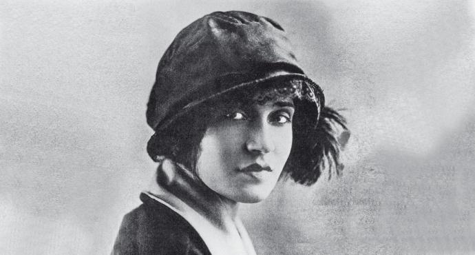 Tina Modotti, fotógrafa italiana.