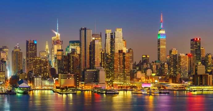 Luces de Nueva York, Estados Unidos de América.