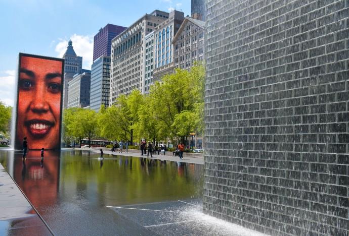 Millennium Park de Chicago.