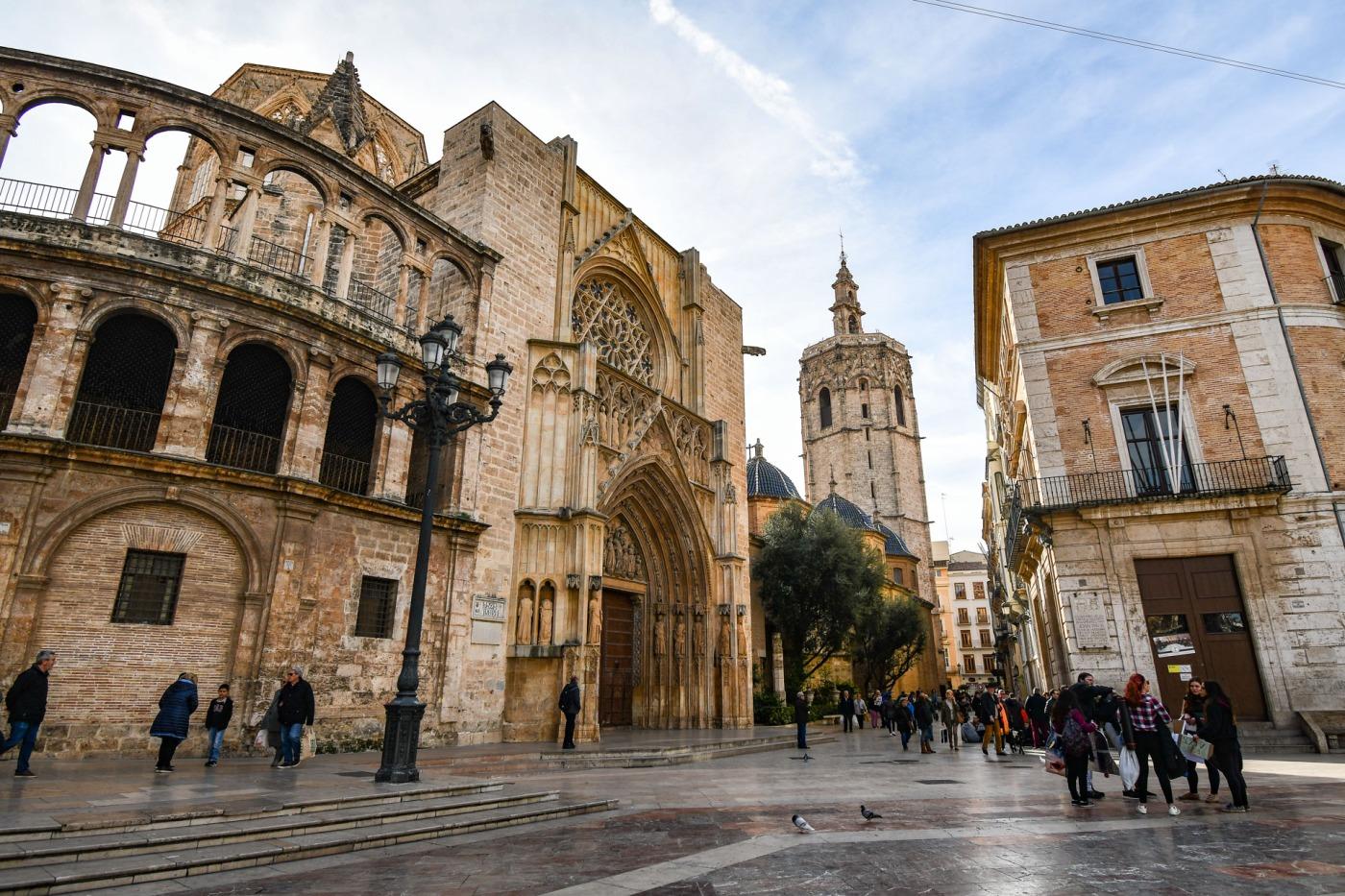 Catedral de Valencia, España.