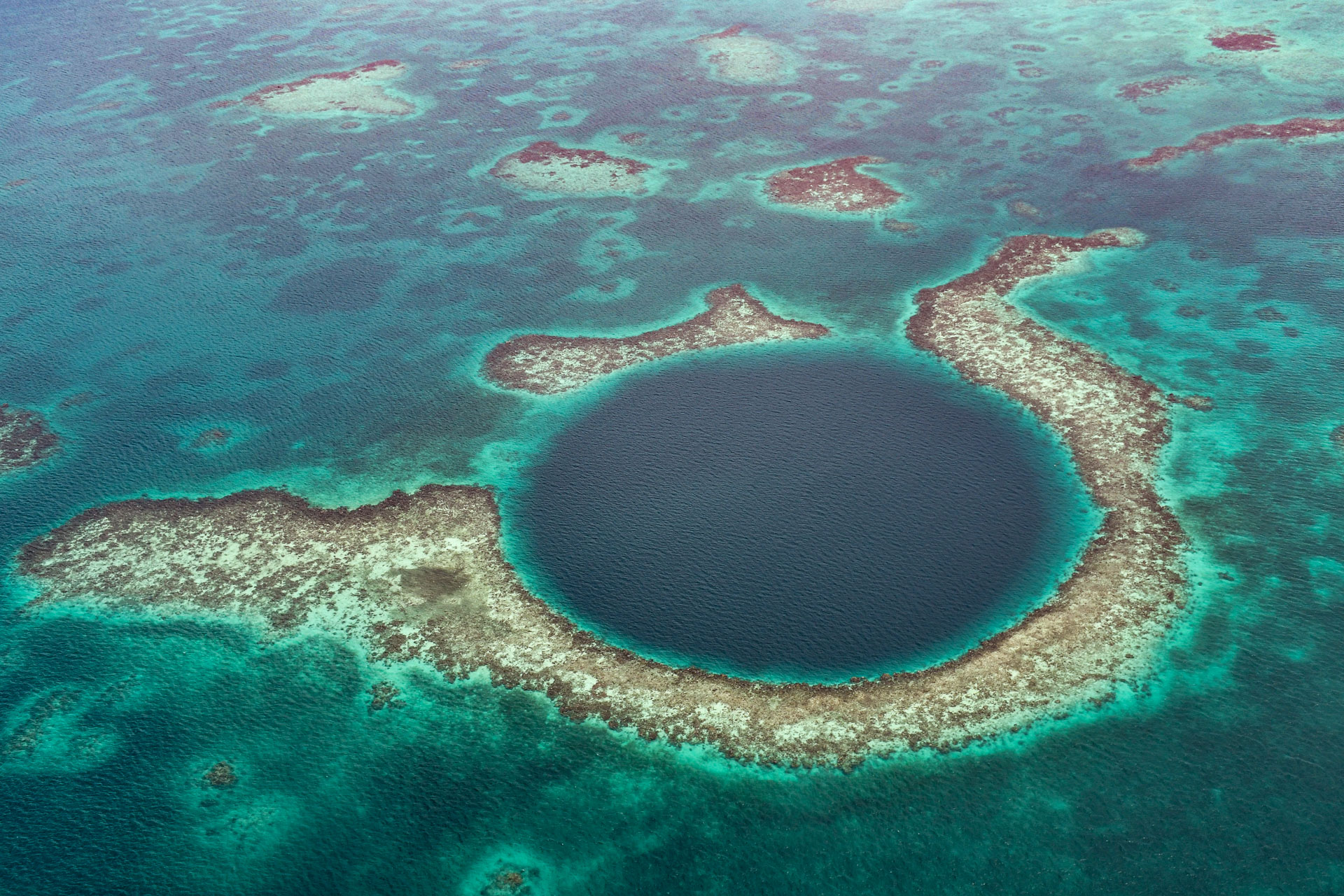 The Great Blue Hole, Belice.