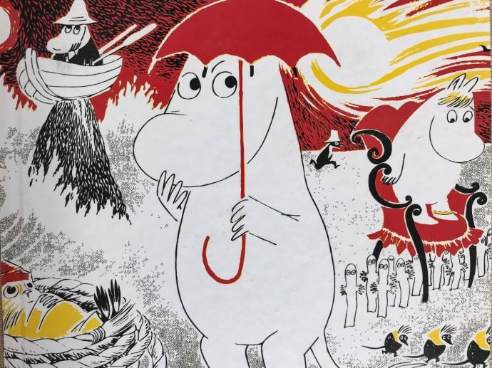 Moomintroll, personaje de Tove Jansson.