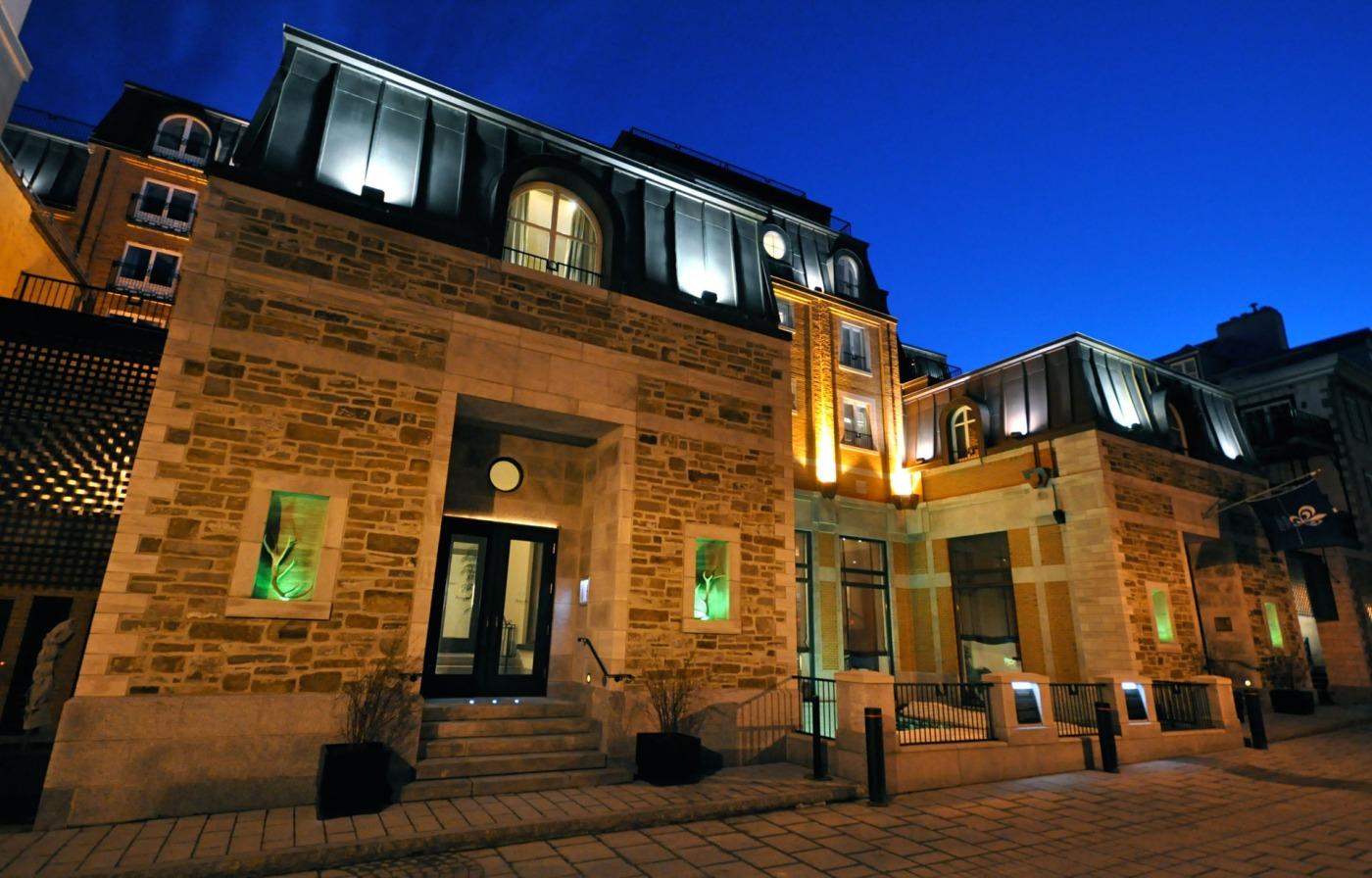 Hotel boutique Auberge Saint-Antoine, Ciudad de Quebec, Canadá. Foto: Cortesía del hotel.