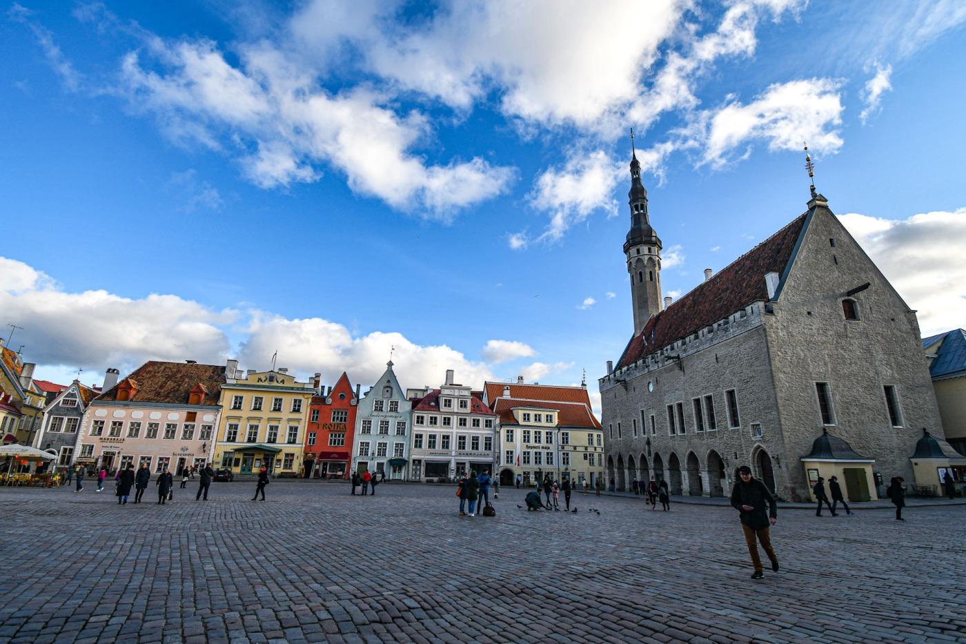 Ciudad Vieja o Vanalinn, Tallin, Estonia
